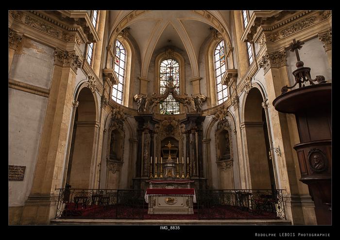 Journées du patrimoine 2019 - Visite libre de la chapelle Sainte-Glossinde / Evêché de Metz