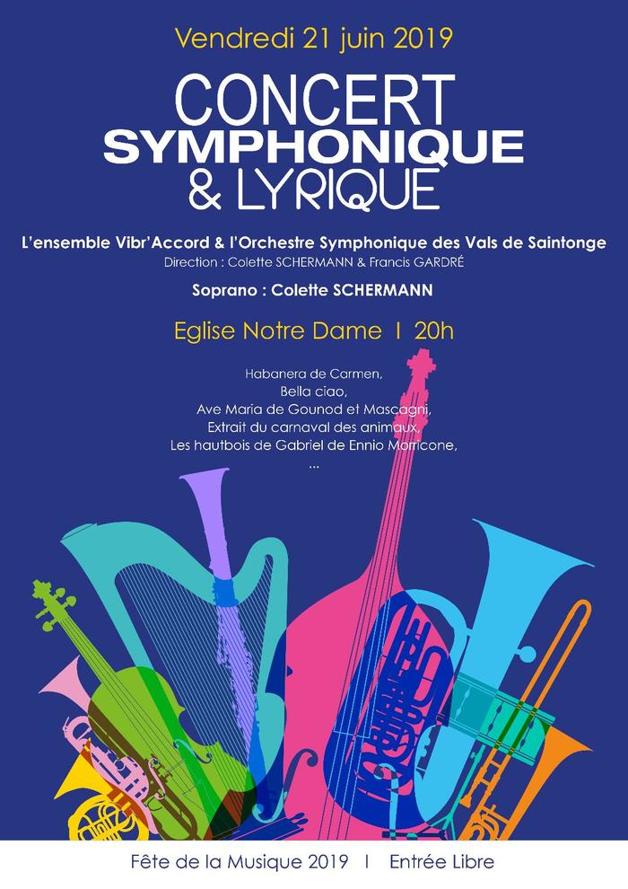 Fête de la musique 2019 - Orchestre symphonique et lyrique