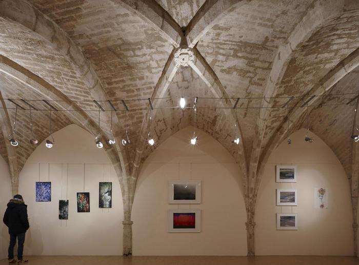 Journées du patrimoine 2020 - Visite libre de l'exposition de Géraldine Goyet : art contemporain, installation audio vidéo et impressions