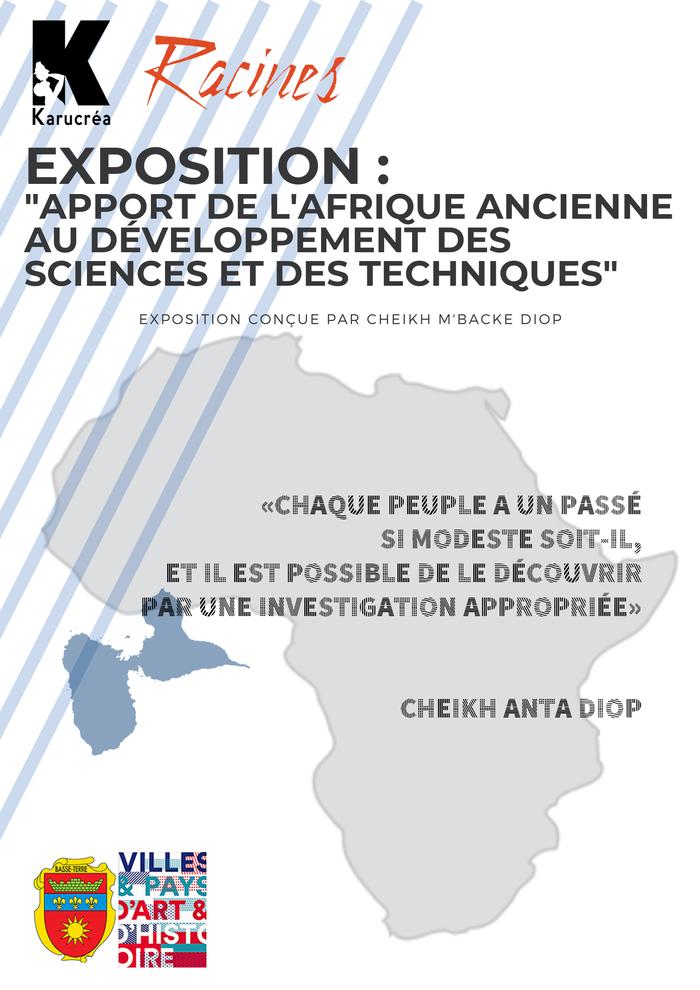 Journées du patrimoine 2020 - Visite commentée pour les scolaires de l'exposition «Apport de l'Afrique ancienne au développement des sciences et des techniques