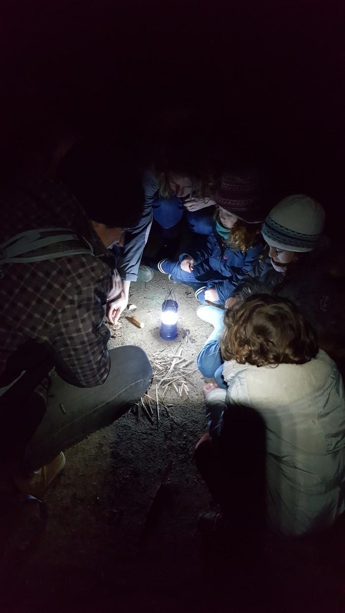 Balade découverte de la nature à la tombée de la nuit