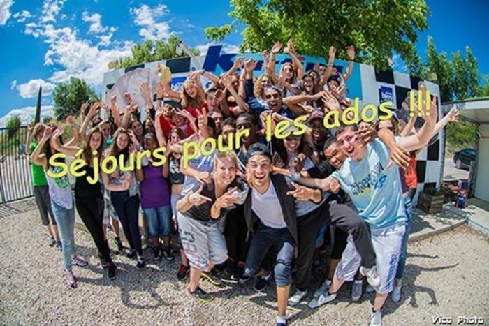 """Dans le cadre de l'opération """"Colos apprenantes"""" par le Ministère de l'Éducation nationale, de la jeunesse et des sports."""