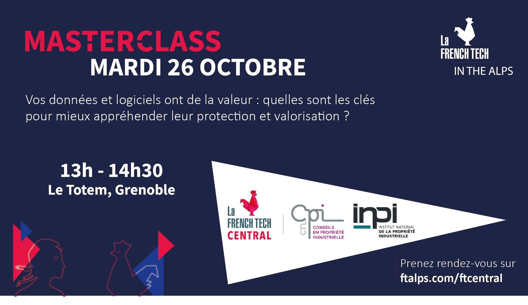 Masterclass French Tech Central x CNCPI & INPI
