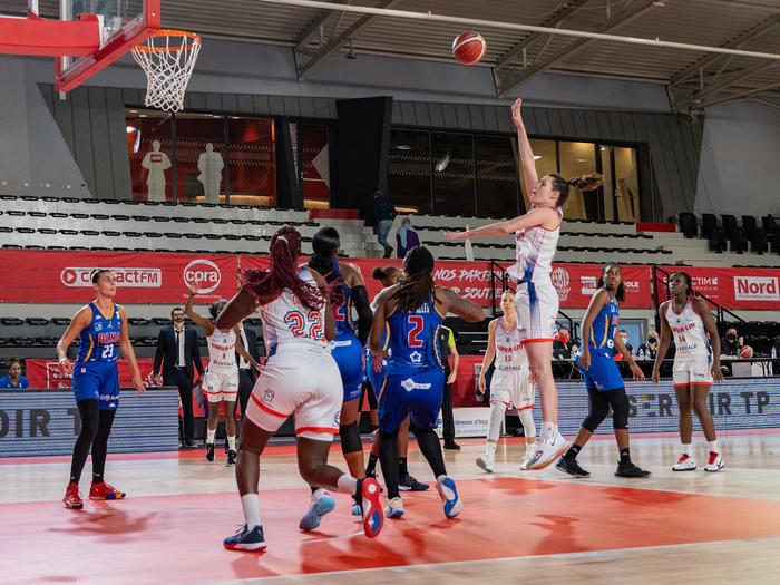 Championnat de la ligue féminine de basket LFB : ESBVA-LM / Lyon ASVEL