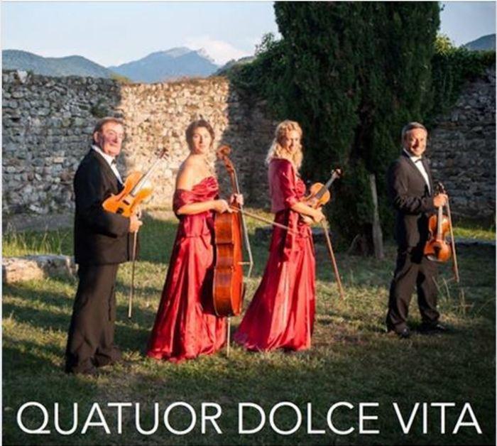 Journées du patrimoine 2019 - Concert par le quatuor à cordes Dolce Vita
