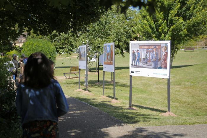 Journées du patrimoine 2020 - Balade commentée de l'exposition
