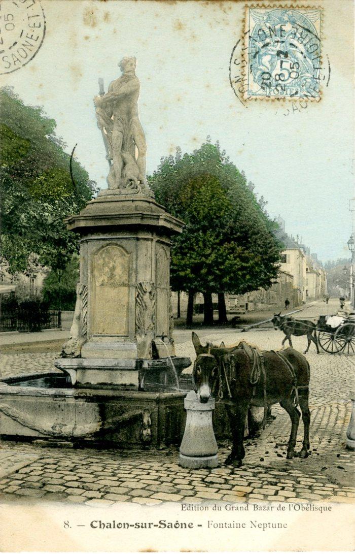 Journées du patrimoine 2020 - Le parcours du livret - Raconte-moi l'eau à Chalon !