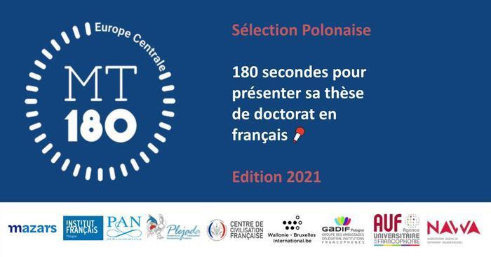 Le concours Ma thèse en 180 secondes Pologne compte 13 candidat·e·s cette année. En trois minutes maximum, ils présentent leur thèse en français pour tenter de convaincre le jury et le public !