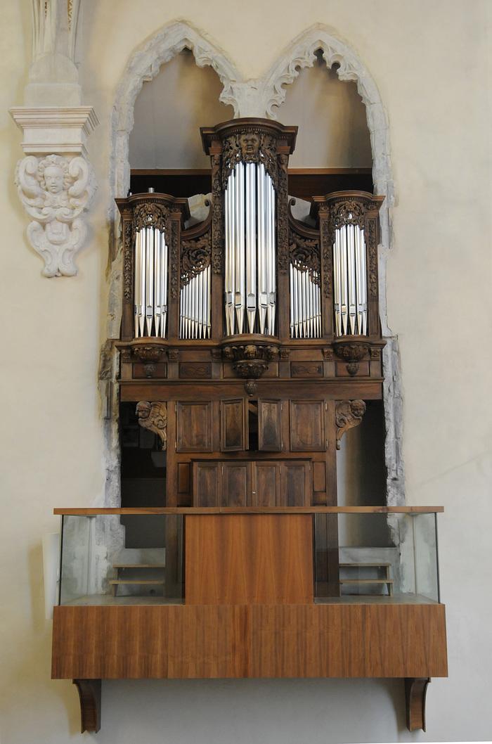 Journées du patrimoine 2019 - Découverte de l'orgue de la Sainte-Chapelle