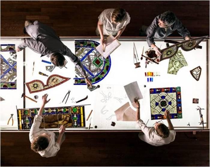 Journées du patrimoine 2019 - Visite de l'Atelier du Vitrail
