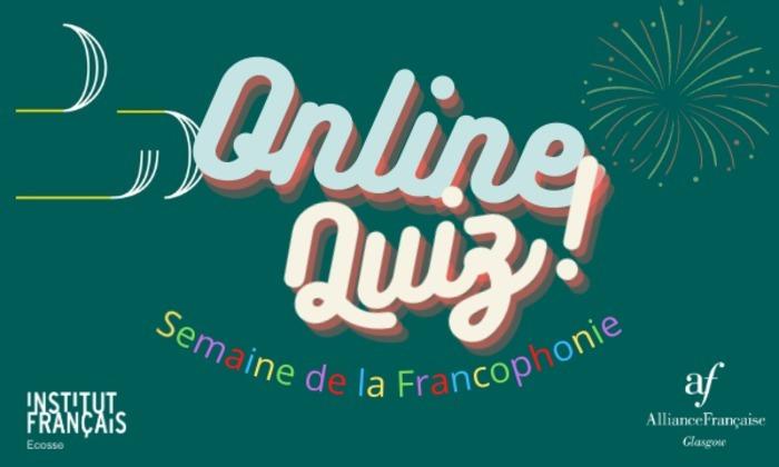 Ne manquez pas notre quiz spécialement organisé pour célébrer la Semaine de la Francophonie en partenariat avec l'Institut Français d'Écosse ! Surprises, rires et défis seront au rendez-vous !!