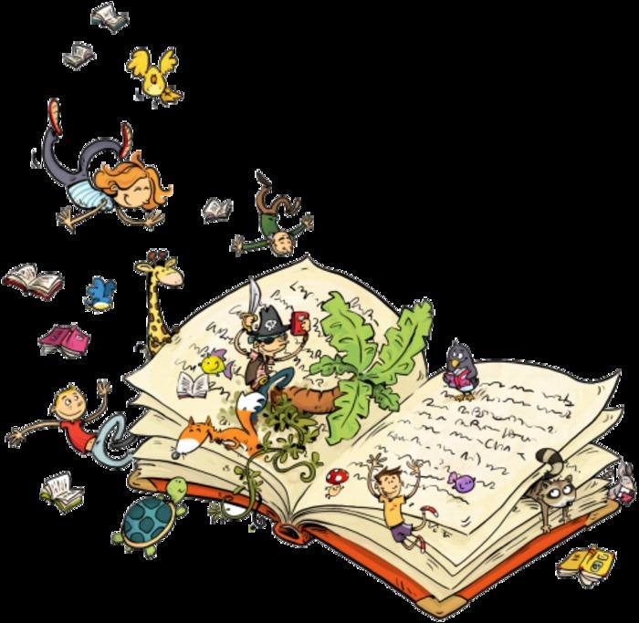 Lectures d'histoires et ateliers créatifs dans le cadre du salon du livre jeunesse - Mercredis 16 octobre, 13 novembre et 11 décembre à 14h30.
