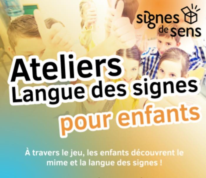 Ateliers Langue des signes pour enfants (Vacances d'été 2019)