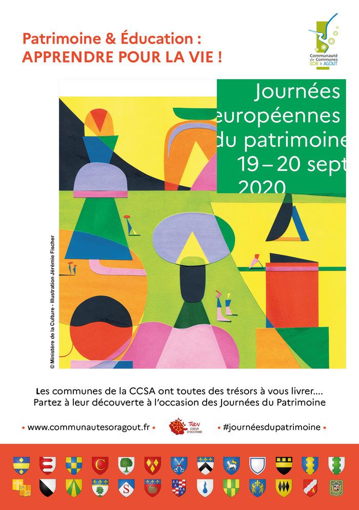 Journées du patrimoine 2020 - Circuit patrimonial