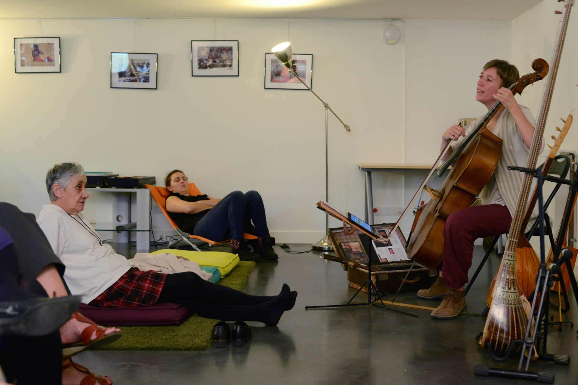 Les Rencontres de la Cabane « La harpe, par Emmanuel Lahoz »