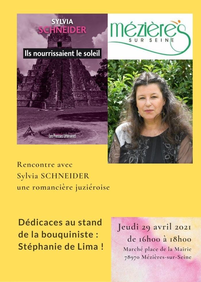 Dédicaces de livres de la romancière juzièroise Sylvia Schneider