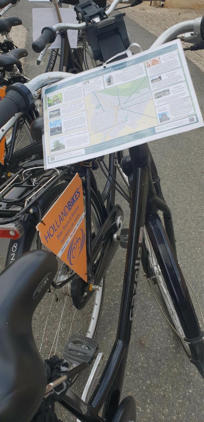 Journées du patrimoine 2020 - Prêt de vélos hollandais
