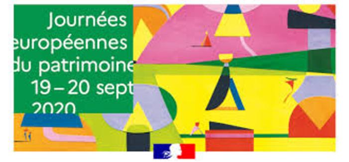 Journées du patrimoine 2020 - Journées Européennes du Patrimoine