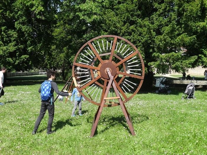 Journées du patrimoine 2019 - Jardin musical : des instruments de bois géants !
