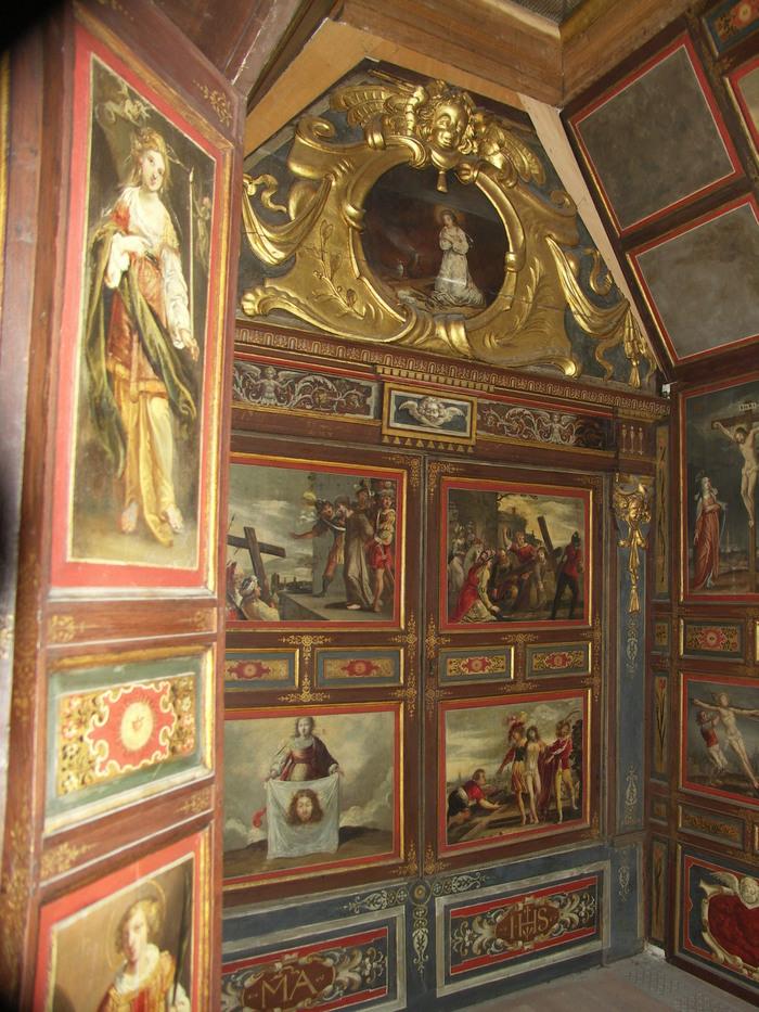 Journées du patrimoine 2020 - 600 ans de St Gervais - Visites exceptionnelles de la Chapelle dorée (peintures XVIIe siècle) par Guillaume Kazérouni