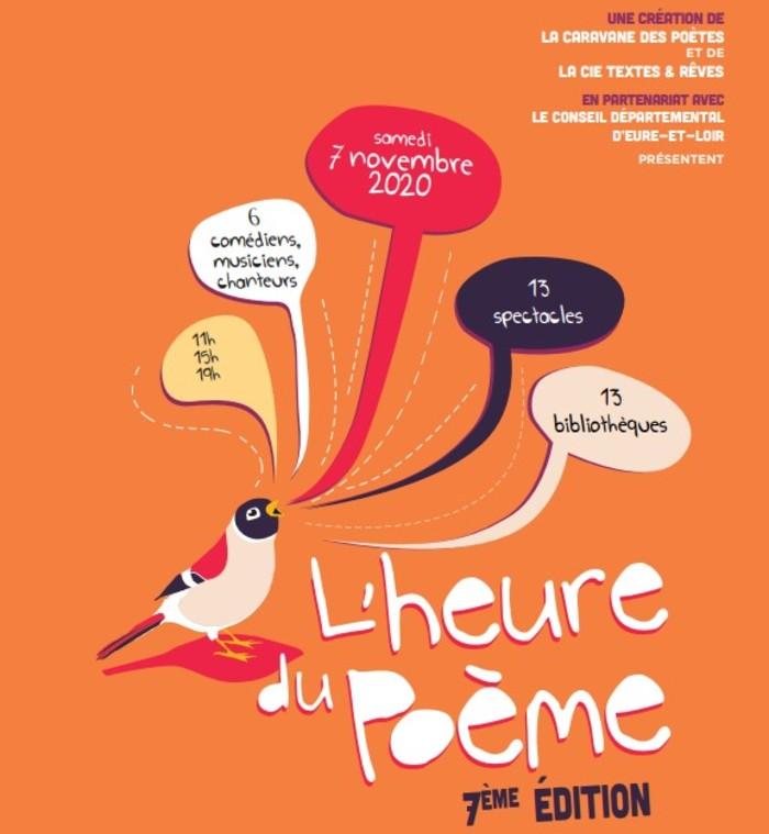 L'heure du poème à la médiathèque de Courville samedi 7 novembre 2020 15h