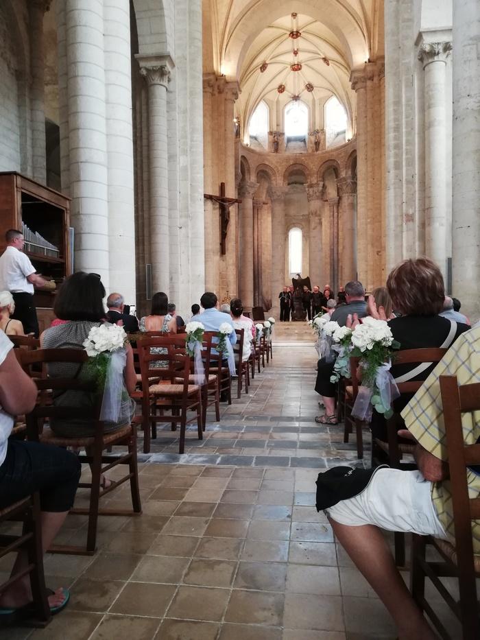 Journées du patrimoine 2020 - Audition des chantres d'Airvault accompagnés de l'orgue à cylindres