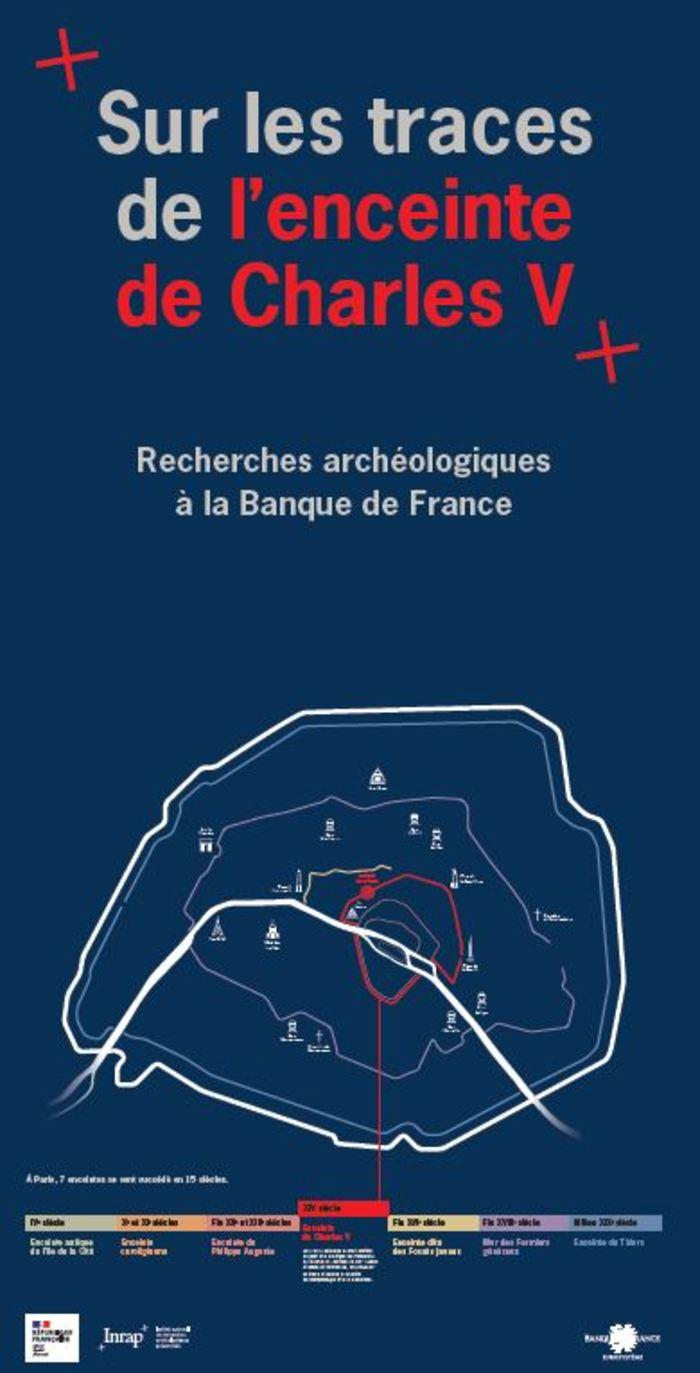 Journées du patrimoine 2020 - Visites guidées sur les traces de l'enceinte Charles V.