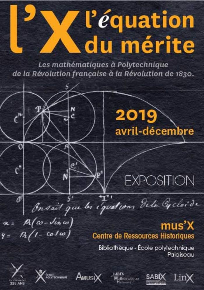 Journées du patrimoine 2019 - Visite guidée de l'exposition « L'X : l'équation du mérite (1794-1830) » par les élèves polytechniciens - Mus'X de l'École polytechnique