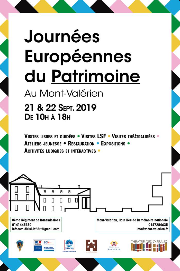 Journées du patrimoine 2019 - Visite en langue des signes française du mémorial du Mont-Valérien