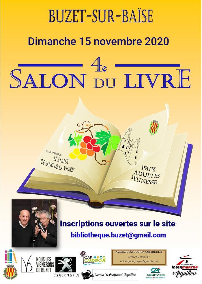 Salon du livre de Buzet-sur-Baïse