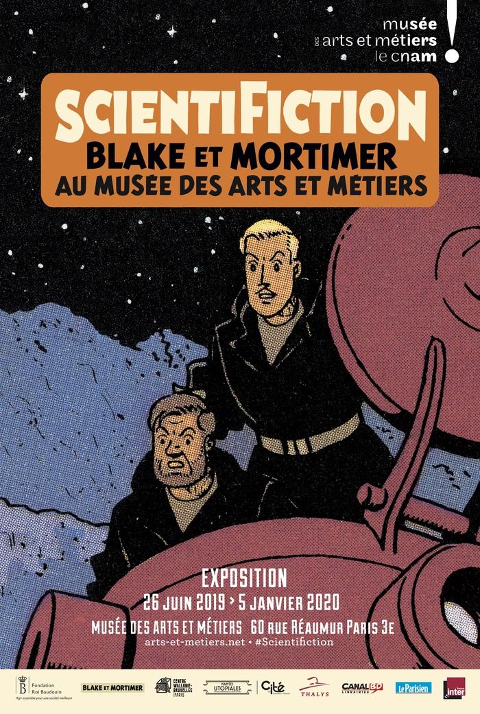 Journées du patrimoine 2019 - Exposition - Scientifiction, Blake et Mortimer au musée des Arts et Métiers