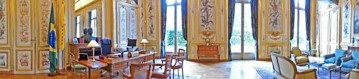 Journées du patrimoine 2020 - Visite de l'ambassade du Brésil en France