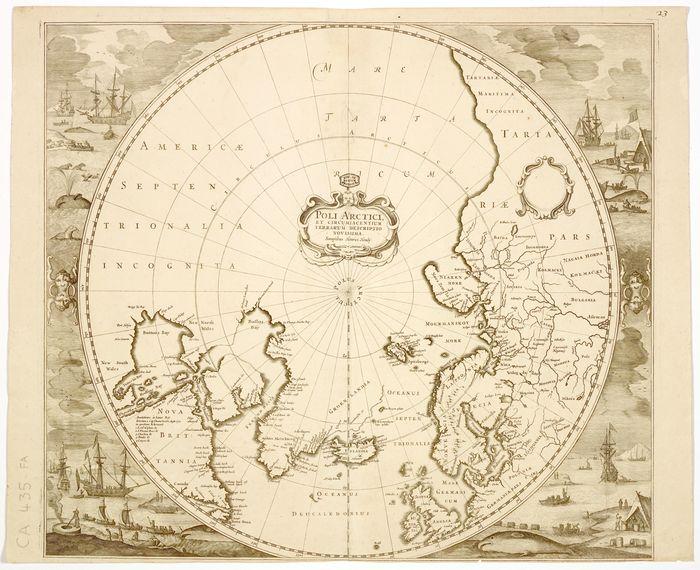 Journées du patrimoine 2019 - La cartographie des régions polaires : du mythe aux images