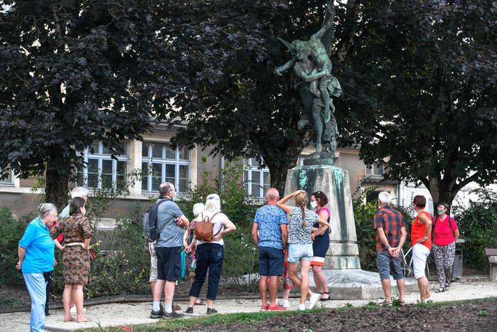 Journées du patrimoine 2020 - Visite guidée des lieux de mémoire de la guerre franco-prussienne de 1870-1871