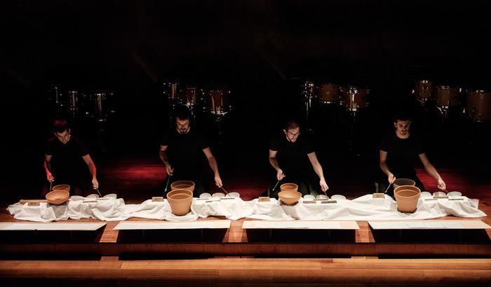 Dans le cadre du festival riverrun, double plateau à l'Athanor avec l'ensemble Apartment House et Frames Percussion