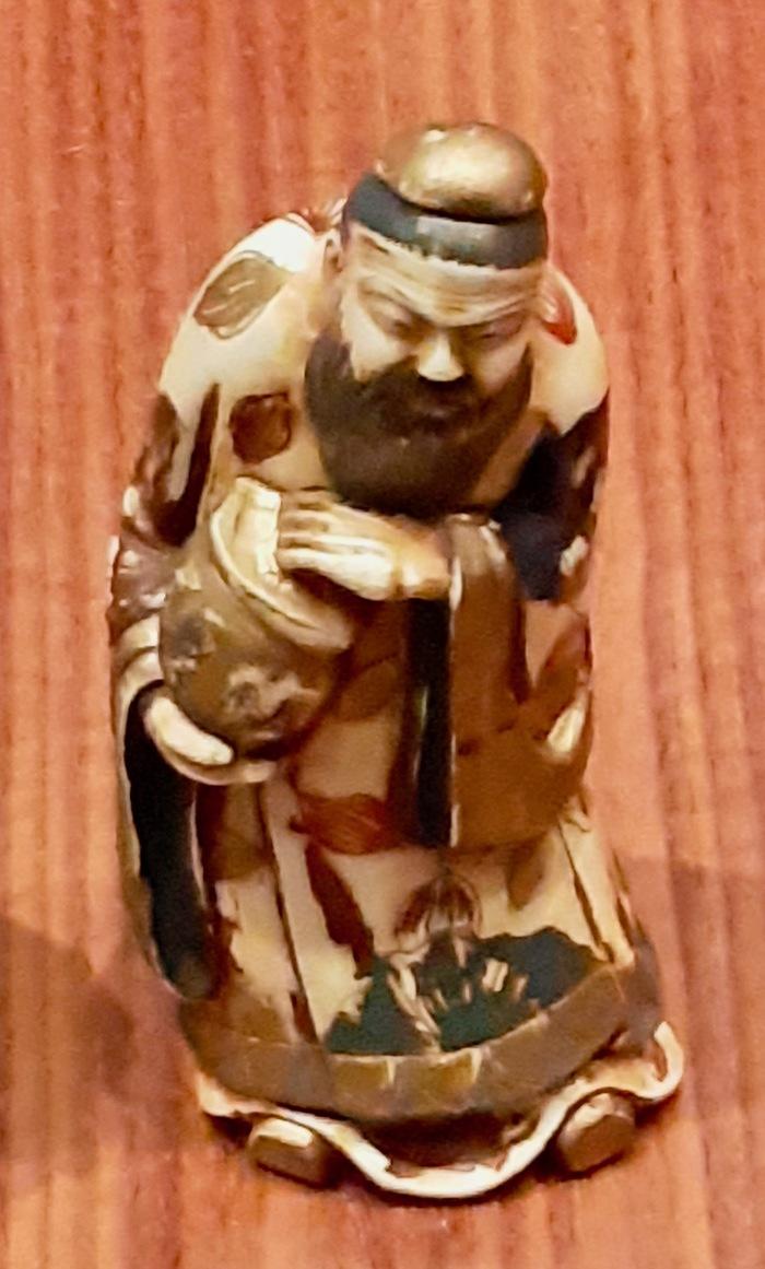 Journées du patrimoine 2019 - Netsuké, Okimono... les ivoires japonais - Visite commentée