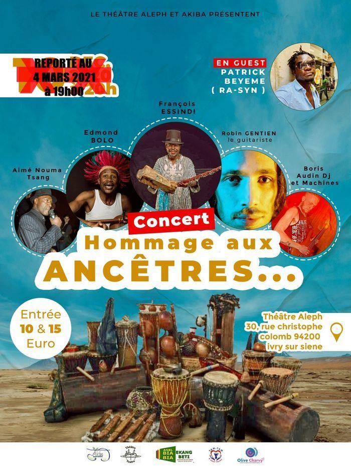 François ESSINDI / Tag Ékang Music Expérience - Concert Hommage aux Ancêtres - à Ivry s/Seine (94)