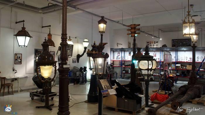 Journées du patrimoine 2019 - Visite commentée de la MEGE - Mémoire de l'Électricité, du Gaz et de l'Éclairage public