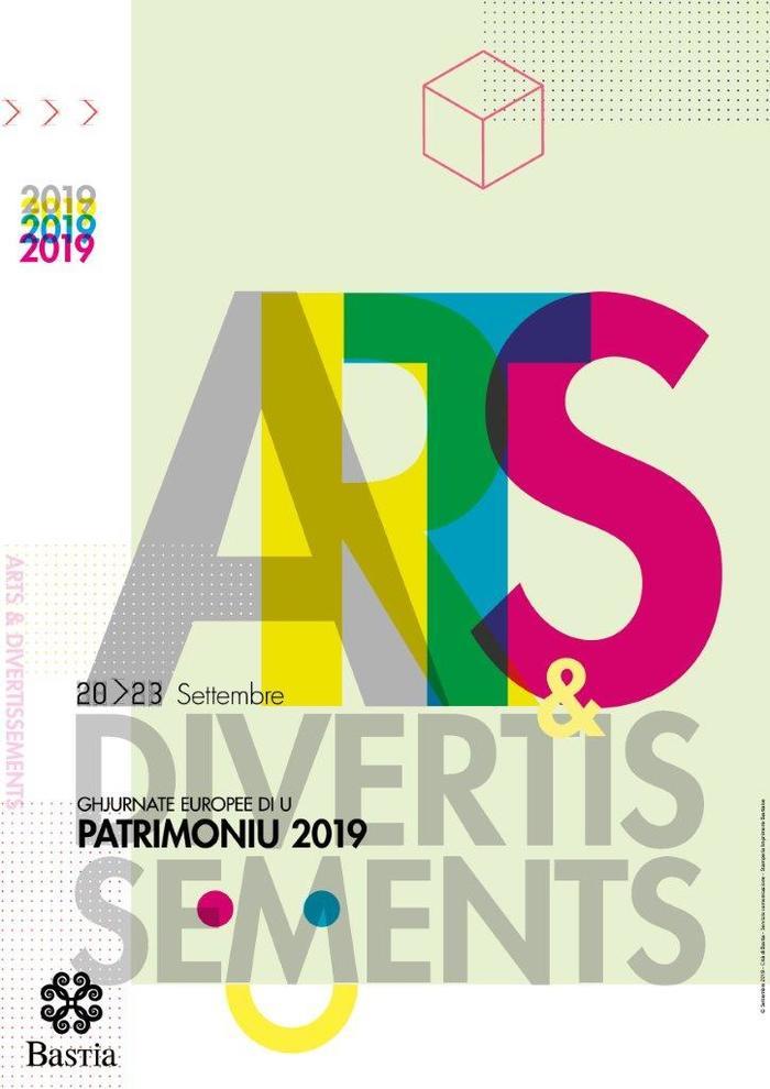 Journées du patrimoine 2019 - Visite guidée : Culture, Arts et festivités au sein du Bastia génois