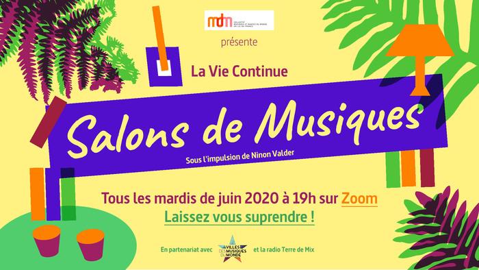 Salons de Musiques gratuits sur Zoom !