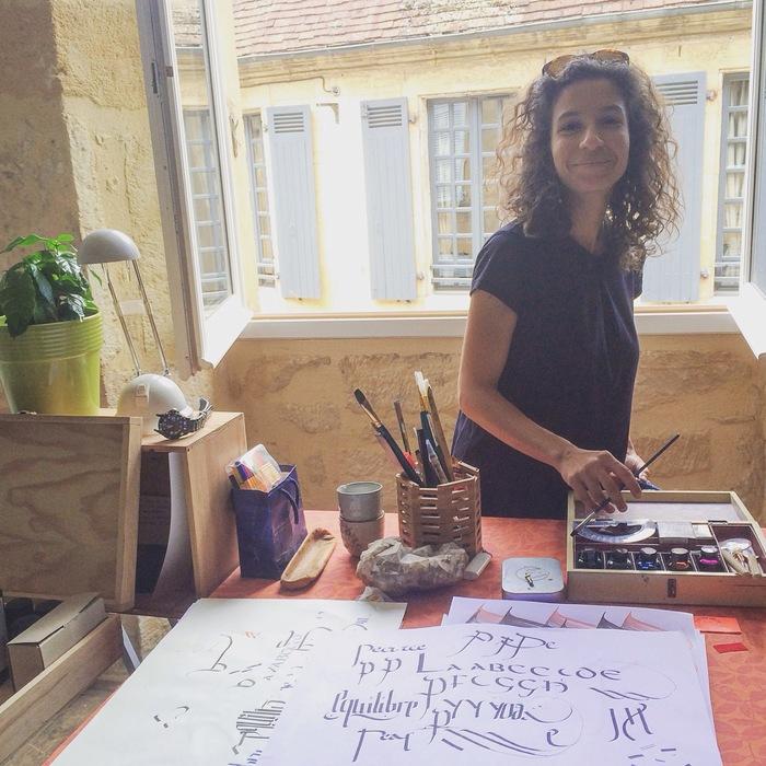 Journées du patrimoine 2019 - Atelier Calligramme