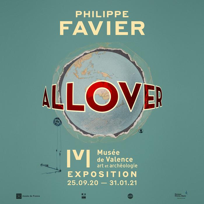 Journées du patrimoine 2020 - Visite lbre exposition ALL-OVER Philippe Favier