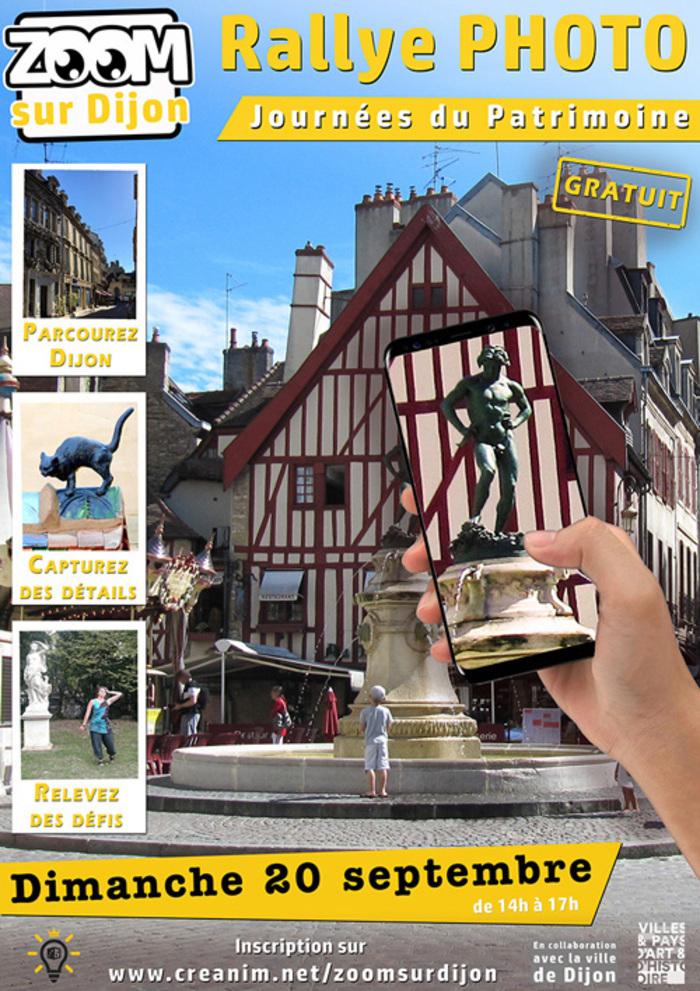 Journées du patrimoine 2020 - Zoom sur Dijon
