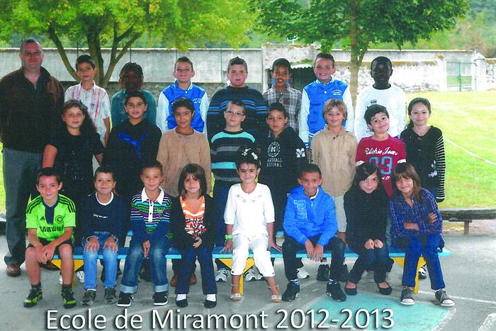 Journées du patrimoine 2019 - Exposition de photos de groupe prises à l'école de Miramont-de-Comminges