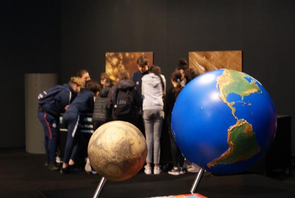 Nuit des musées 2019 -Visite guidée : voyage vers Mars