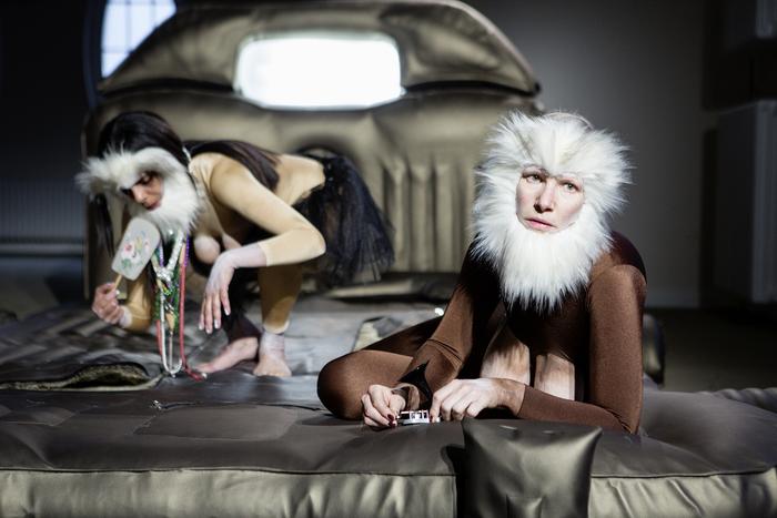 Journées du patrimoine 2019 - Performance 'Consul & Meshie' de Latifa Laâbissi & Antonia Baer