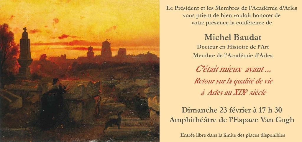 Par Michel Baudat, historien membre de l'Académie d'Arles