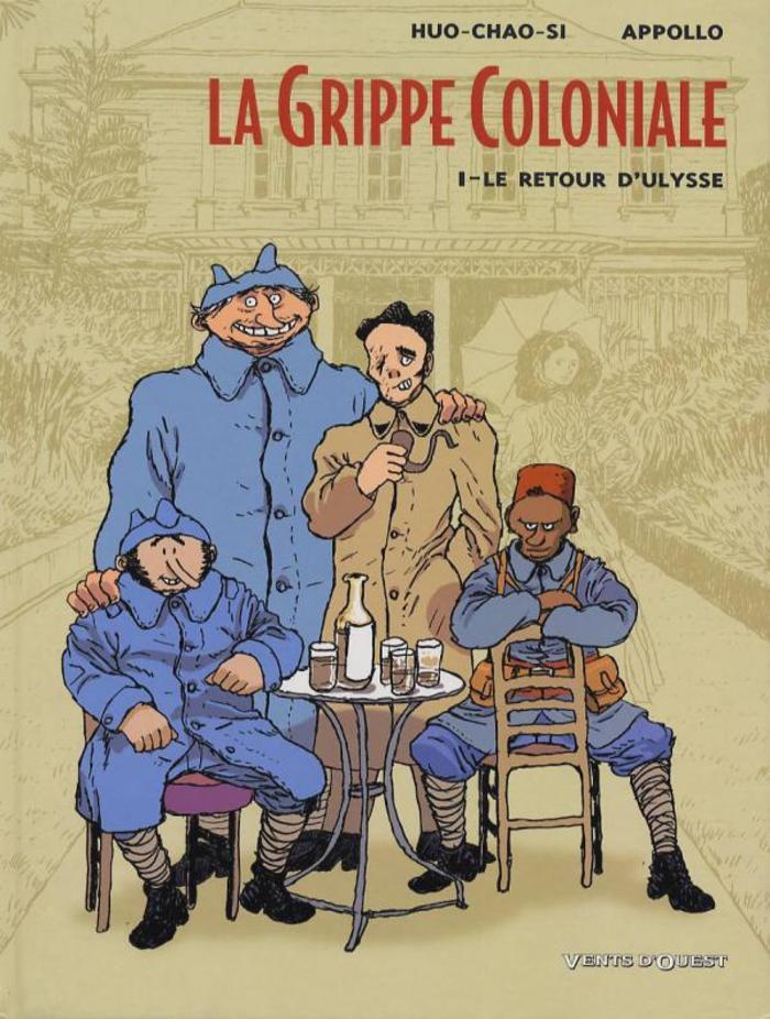 Journées du patrimoine 2019 - Retour sur la grippe espagnole à La Réunion (1919-2019). Une rencontre avec Appollo, scénariste de la BD