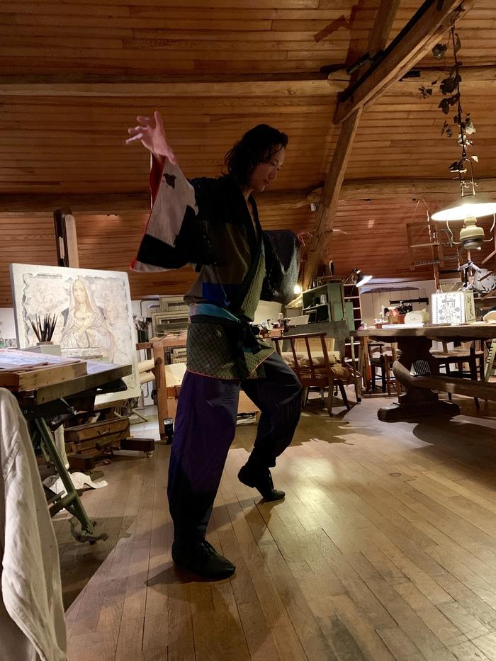 Journées du patrimoine 2019 - Performance du danseur Yoshitaka Susuki