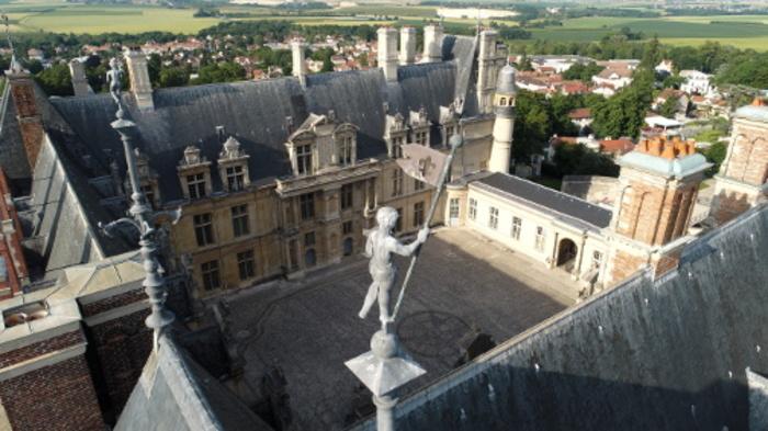 Journées du patrimoine 2019 - L'architecture du château d'Écouen